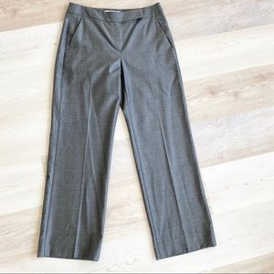 Max Mara Heather Gray work pants trousers